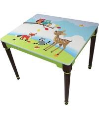 Fantasy Fields? Tisch mit Handbemalung, »Woodland«