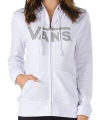 Mikina Vans Authentic Zip white M