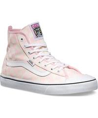 Boty Vans Dazie Hi barely pink 37