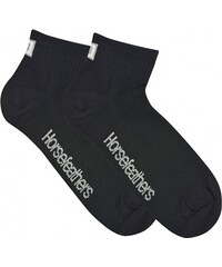 Ponožky Horsefeathers Run black 5-7