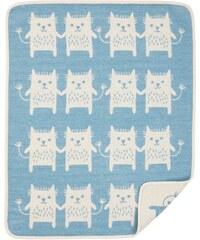 Klippan, Švédsko Bavlněná dětská deka chenille Little Me tyrkys 70 x 90 cm Tyrkysová