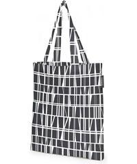 Finlayson, Finsko Bavlněná nákupní taška Coronna black 36 x 42 cm