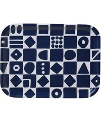 Klippan, Švédsko Malý servírovací tác Mosaic blue 20 x 27 cm