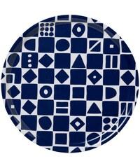 Klippan, Švédsko Kulatý tác Mosaic blue Ø 31 cm