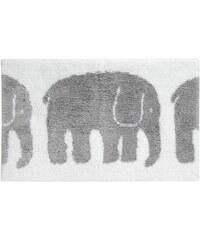 Finlayson, Finsko Koupelnová předložka Elefantti grey 50 x 80 cm Šedá