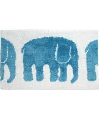 Finlayson, Finsko Koupelnová předložka Elefantti tyrkys 50 x 80 cm Tyrkysová
