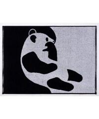 Finlayson, Finsko Ručník Ajatus black (Panda) 50 x 70 50 x 70 cm Černá