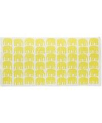 Finlayson, Finsko Osuška Elefantti yellow 70 x 150 70 x 150 cm Žlutá