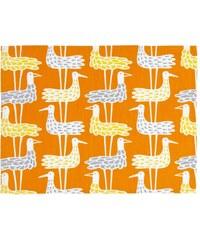 Bengt & Lotta, Švédsko Prostírání Shore birds orange 35 x 45 cm 2 ks Oranžová