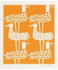 Klippan, Švédsko Utěrka celulózová Shore birds orange 17 x 20 cm Oranžová