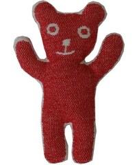 Klippan, Švédsko Plyšová hračka Bruno red 25 x 17 cm