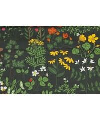 Bengt & Lotta, Švédsko Běhoun na stůl Leksand green 45 x 150 cm