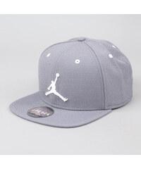 Jordan Jumpman Snapback šedá / bílá (basketbal)
