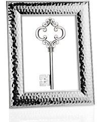 Andrea house - Tepaný fotorámeček stříbrný, ocel 10x15cm (AX16163)