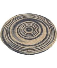 KERSTEN - Koberec kulatý, konopný, mix barev, 90x90cm (1003741)