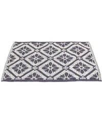 KERSTEN - Balvněný koberec, šedý 60x90cm (WER-0177)