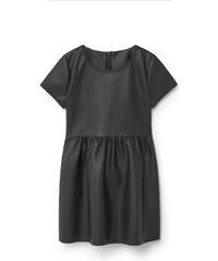 MANGO KIDS Kleid Aus Kunstleder