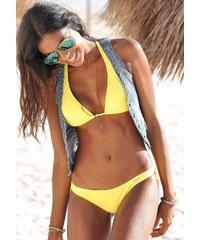 Große Größen: Bikini Hose ´´Happy´´ in knapper Brasilien-Form, Buffalo, gelb, Gr.32-42