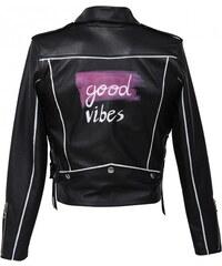 Concepto Veste en Cuir Noire - Good Vibes