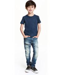 H&M Skinny Fit Jeans se zipem