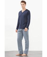 Esprit Pyjama en jersey/tissu 100 % coton