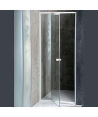 AQUALINE - AMICO sprchové dveře výklopné 820-1000x1850 mm, čiré sklo (G80)