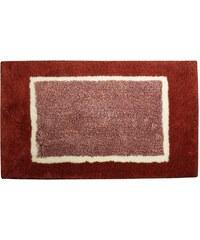 AQUALINE - ATHENA předložka 85x50cm s protiskluzem, polyakryl, červená (AT002)
