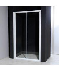 AQUALINE - AURELIA Sprchové dveře posuvné, čiré sklo, 1200 mm (F120)
