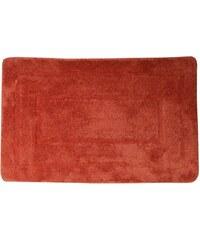 AQUALINE - Koupelnová předložka, 50x80 cm, 100% acryl, protiskluz, červená (KP03C)