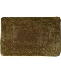 AQUALINE - Koupelnová předložka, 50x80 cm, 100% acryl, protiskluz, tmavě hnědá (KP04H)