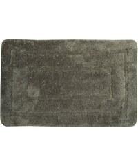 AQUALINE - Koupelnová předložka, 50x80 cm, 100% acryl, protiskluz, tmavě šedá (KP02S)