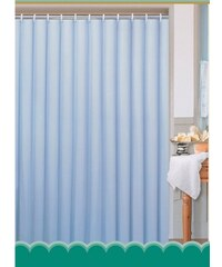 AQUALINE - Závěs 180x180cm, 100% polyester, jednobarevný modrý (0201103 M)