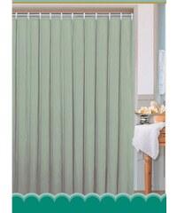 AQUALINE - Závěs 180x180cm, 100% polyester, jednobarevný zelený (0201103 Z)