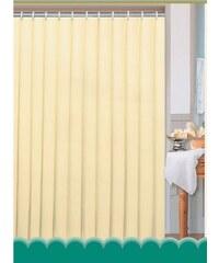 AQUALINE - Závěs 180x200cm, 100% polyester, jednobarevný béžový (0201104 BE)
