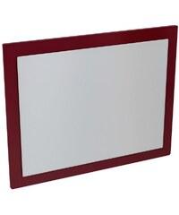 Sapho ERRA - MITRA zrcadlo v rámu 72x52x4 cm, bordó (MT193)