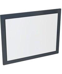 Sapho ERRA - MITRA zrcadlo v rámu 92x72x4cm, antracit (MT182)
