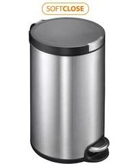 SAPHO - ARTISTIC odpadkový koš 12l, Soft Close, broušená nerez (DR112)