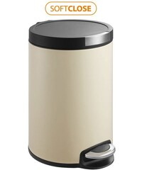 SAPHO - ARTISTIC odpadkový koš pedálový 12l, Soft Close, béžová (DR12C)