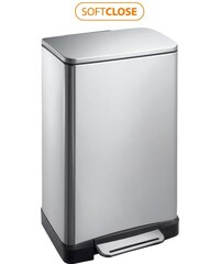 SAPHO - E-BIN odpadkový koš 20l, Soft Close, broušená nerez (DR196)