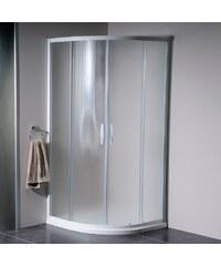 Gelco SAPHO - ETERNO čtvrtkruhová sprchová zástěna 900mm, sklo BRICK (GE7590)