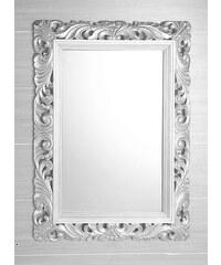 SAPHO - EUROPA zrcadlo v rámu 930x1230 mm, bílá (NL479)