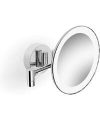 SAPHO - Kosmetické zrcátko s LED osvětlením, chrom (BL715)