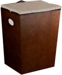 SAPHO - MONTANA koš na prádlo 36,3x49,5x31,2 cm, dřevo (8138)