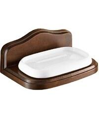 SAPHO - MONTANA mýdlenka, keramika/dřevo (8111)