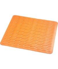 SAPHO - PLAYA podložka 54x54cm s protiskluzem, kaučuk, oranžová (68414)