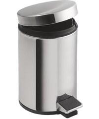 AQUALINE - SIMPLE LINE odpadkový koš kulatý 12l, leštěná nerez (27112)
