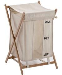 AQUALINE - Koš na prádlo 43x64,5x46 cm, bílá (BU38)