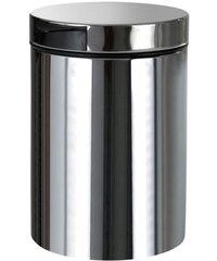 BEMETA - Odpadkový koš závěsný 3l, broušená nerez (125115055)