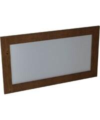 SAPHO - BRAND zrcadlo 1300x700x20mm, mořený smrk (BA061)