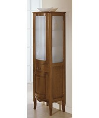SAPHO - IRIS doplňková skříňka vysoká 50x170x39,5cm, noce (CI-50)